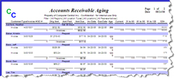 account payable aging