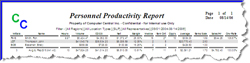 Sales Rep Productivity Report